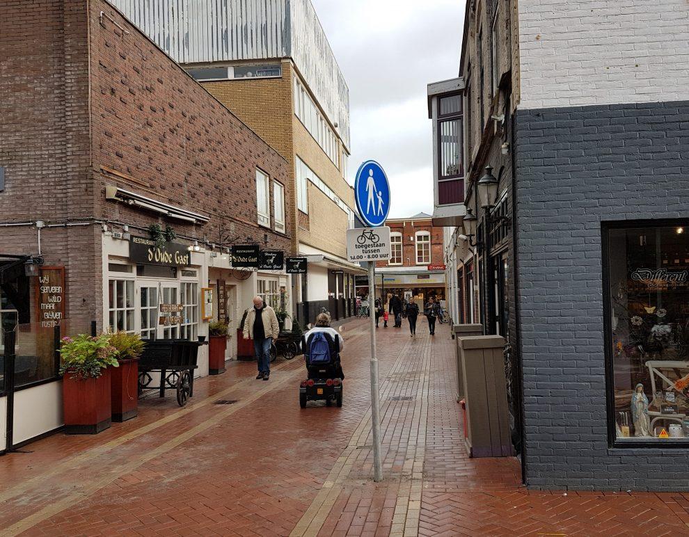 Overkapping Kroonstraat