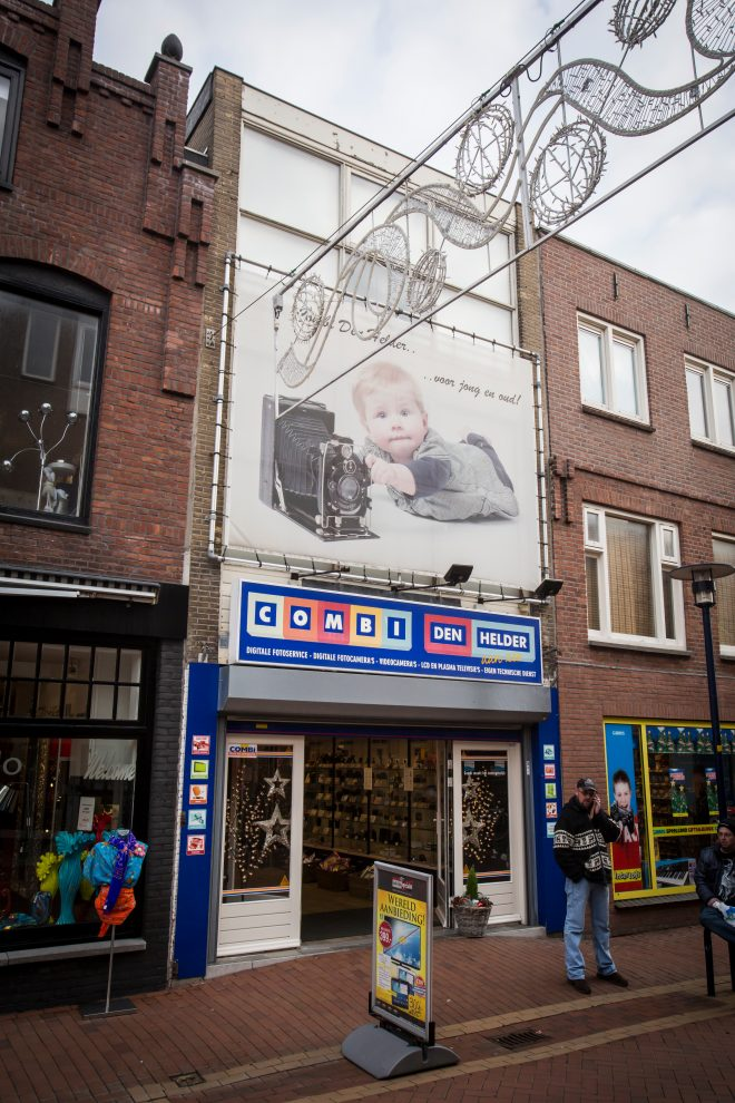Oude gevel Combi Den Helder