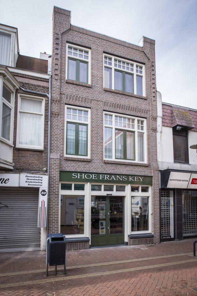 Nieuwe gevel Shoe Frans Key